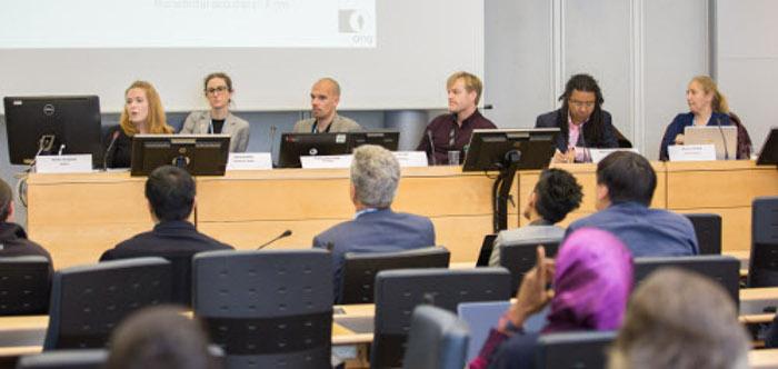 WSIS 2018 panel