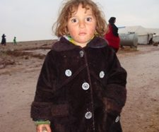 Syrian Children in Camp Atma