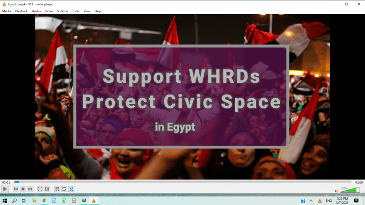 Egypt Protect Civic Space